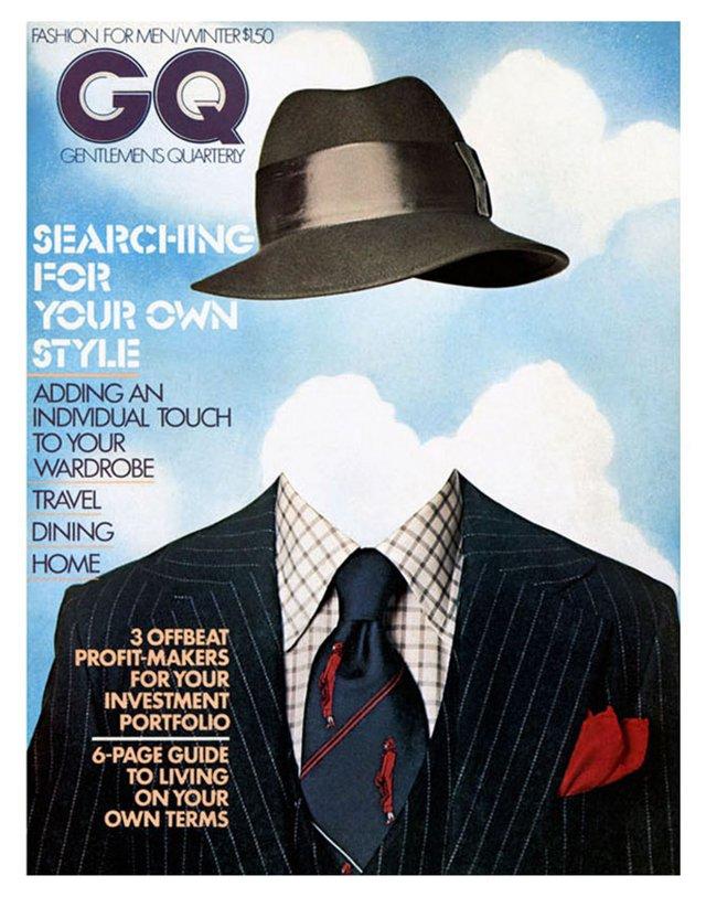 GQ Cover, December 1974