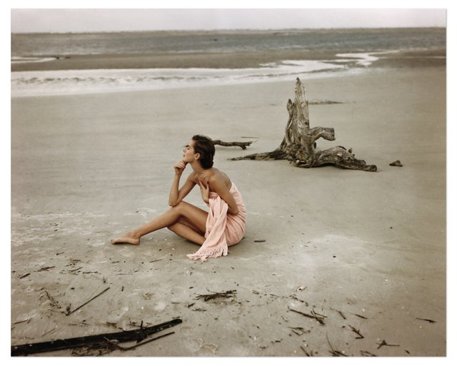 Frances McLaughlin-Gill, On the Beach