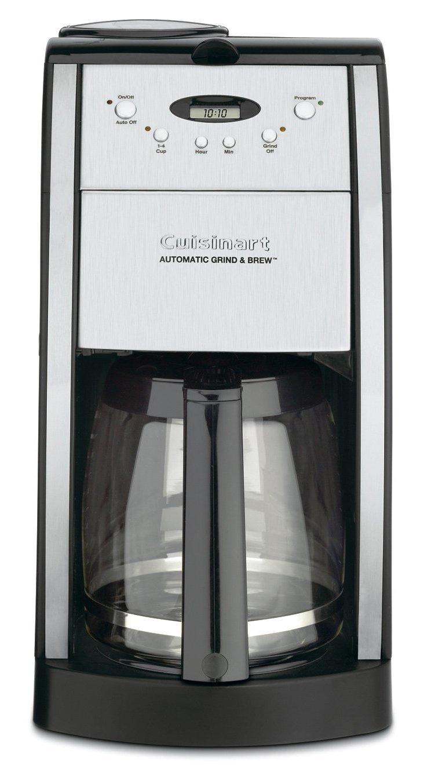 12-Cup Grind & Brew Coffee Maker