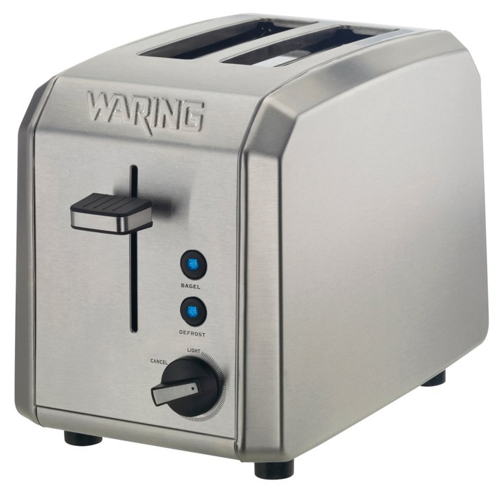 2-Slice Toaster, Brushed Stainless Steel