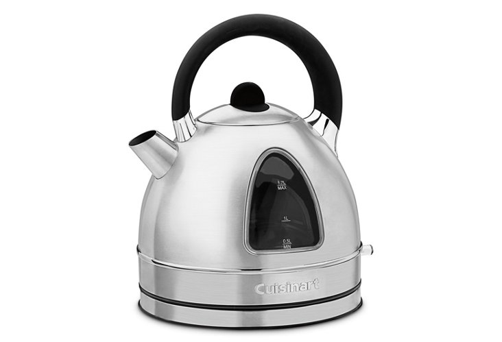 Cordless Electric Kettle, Brushed Silver