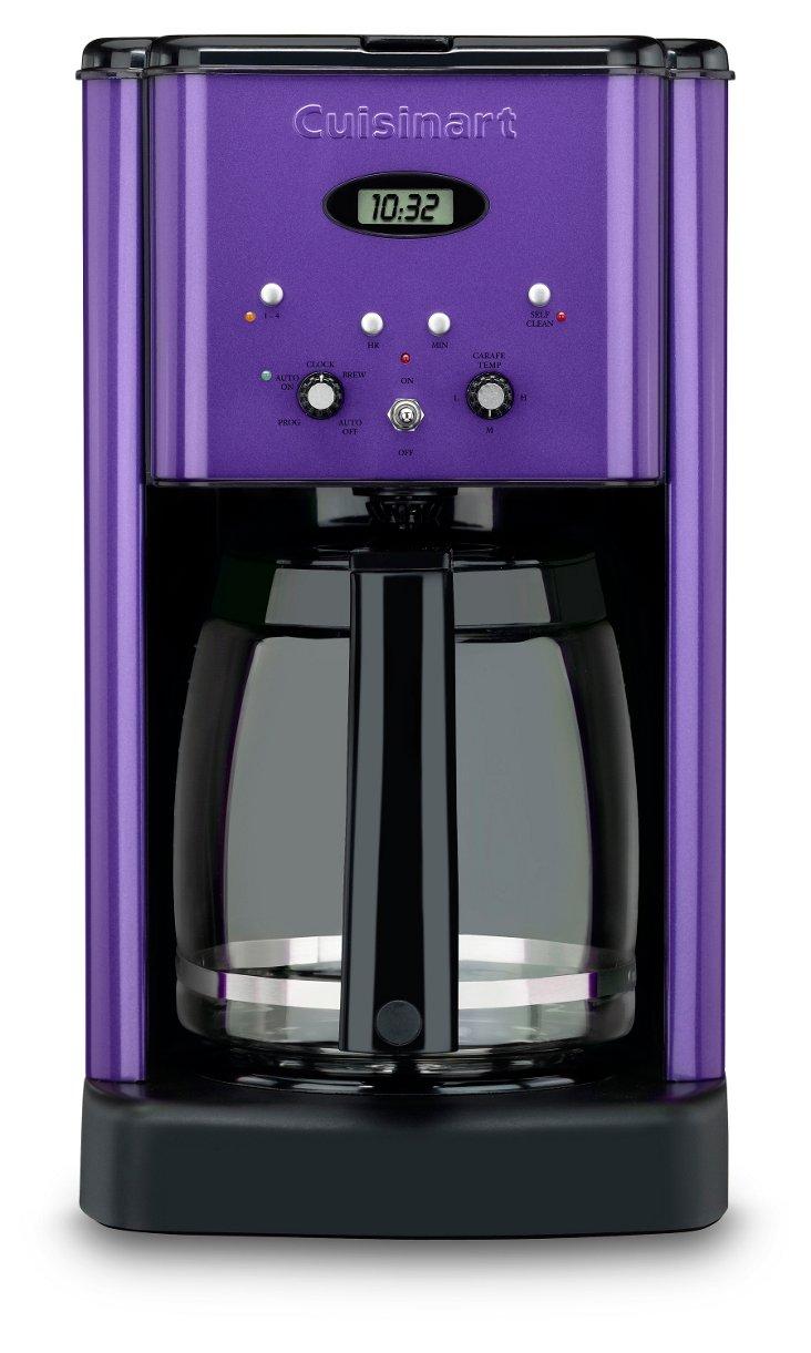 DISCON Coffee Maker, Metallic Purple