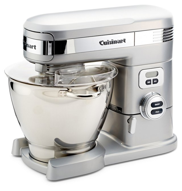 12-Speed Stand Mixer, Silver