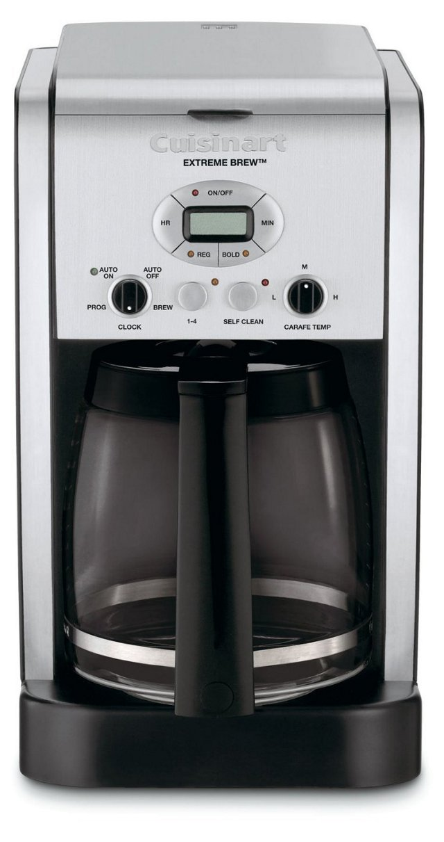 12-Cup Brew Central Coffee Maker, Silver
