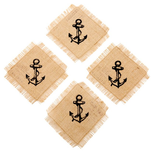 S/4 Anchor Coasters