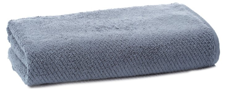 Quick-Dry Bath Towel, French Blue