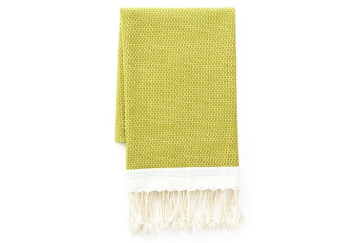 Mediterranean Bath Towel, Green