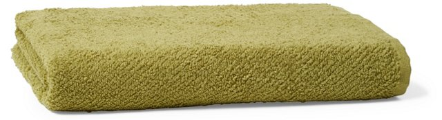 Air Weight Bath Towel, Green Tea