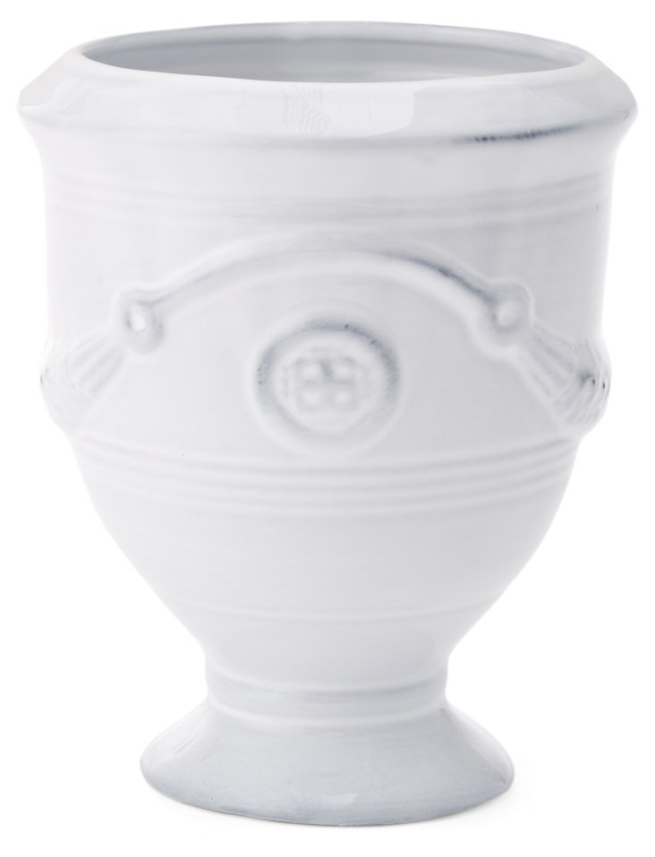 "7"" Andover Urn, White"