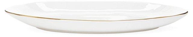 Gold-Rimmed Platter, Large