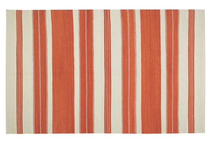 Puhalo Flat-Weave Rug, Saffron