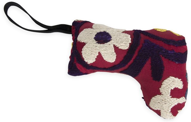 Stocking Ornament, Red
