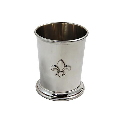 Fleur-de-Lis Mint Julep Cup