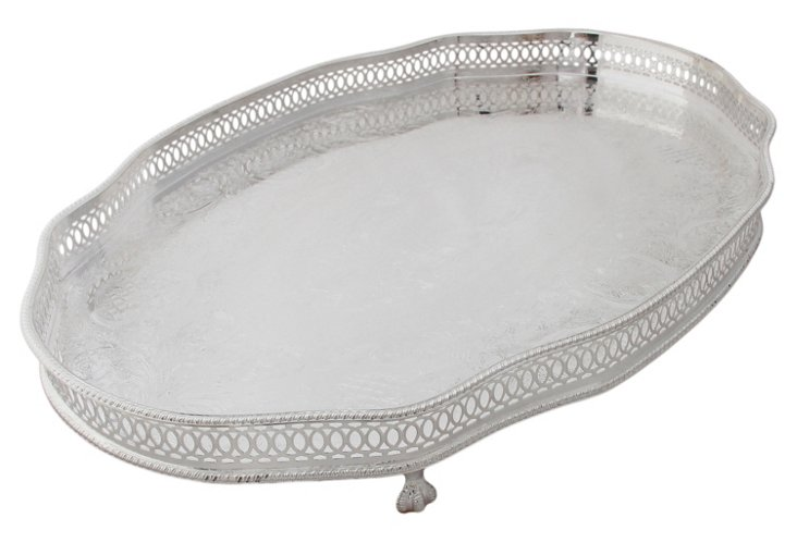 Sheffield Footed Tray