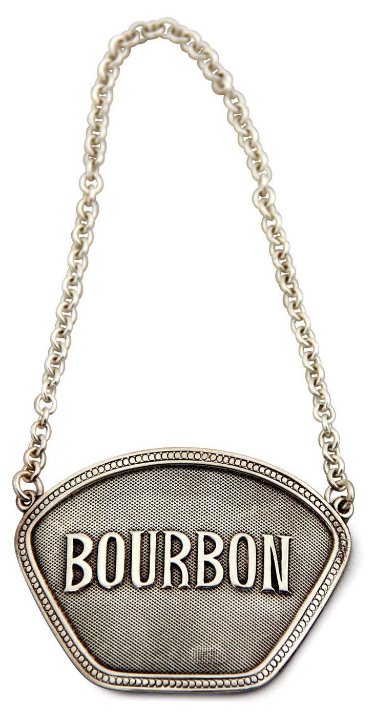 Bourbon Decanter Label