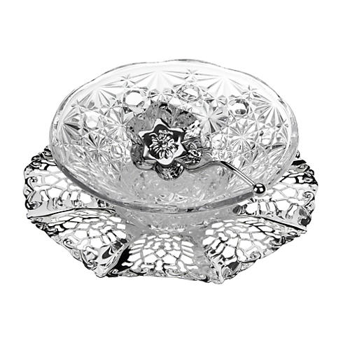 """Silver-Plated Royal Party Set, 7"""""""