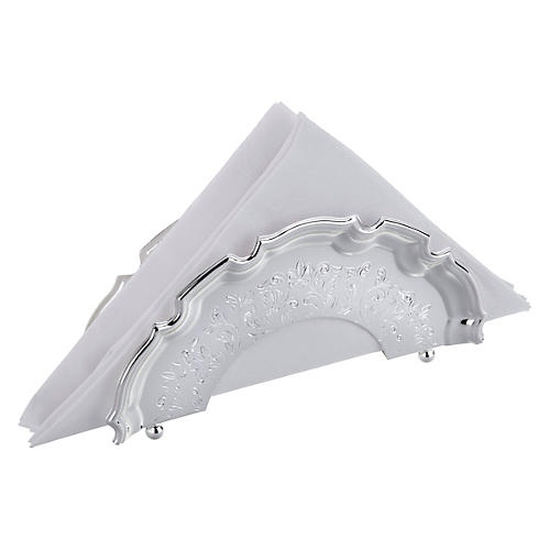 Silver-Plated Chippendale Serviette