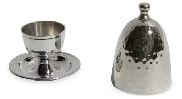 Silver-Plated Egg Cup