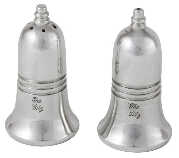 """""""The Ritz"""" Silver-Plated Shaker Set"""