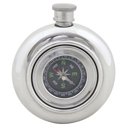 Working Compass Flask