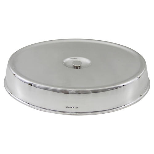 Hotel Silver Low Dome Cover
