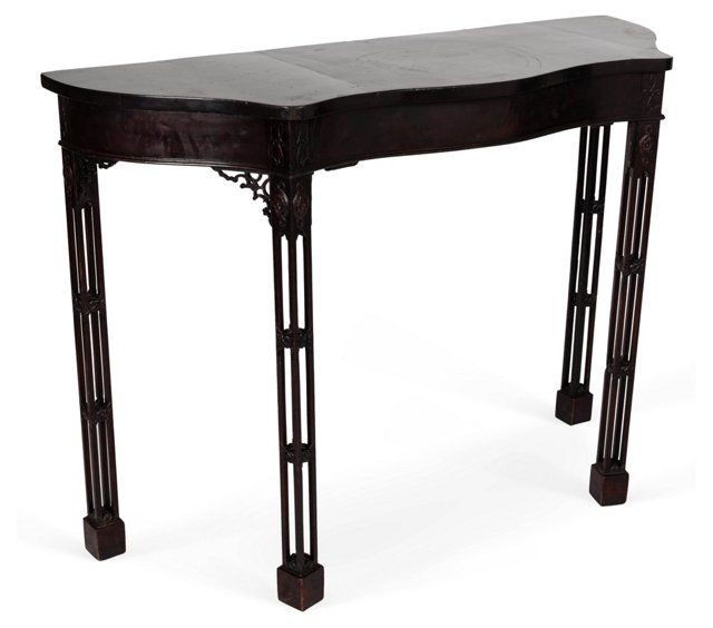 Chippendale-Style Console