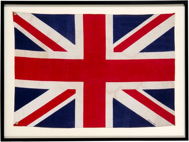 Framed Union Jack