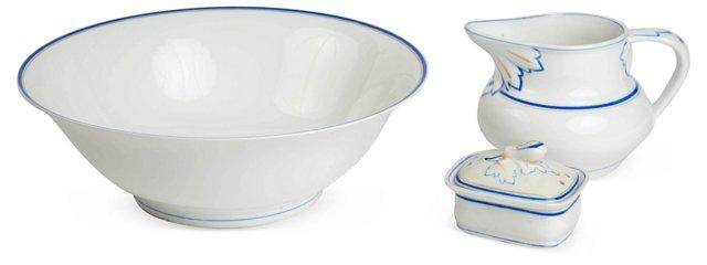 Porcelain Washbowl Set