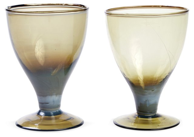 Sage Glasses, Pair