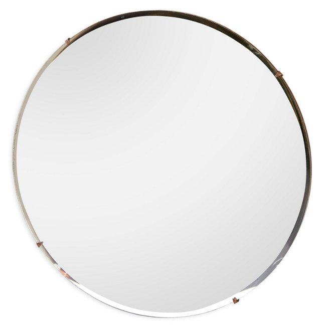 Round Frameless Mirror II