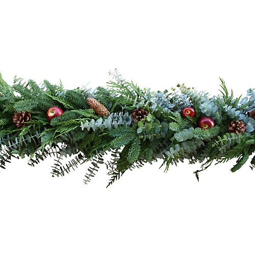 Holiday Apple Garland, Live