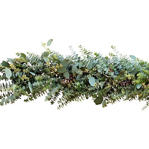 Winter Eucalyptus Garland, Live