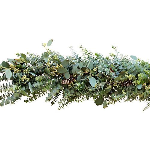 Winter Eucalyptus Garland, Live