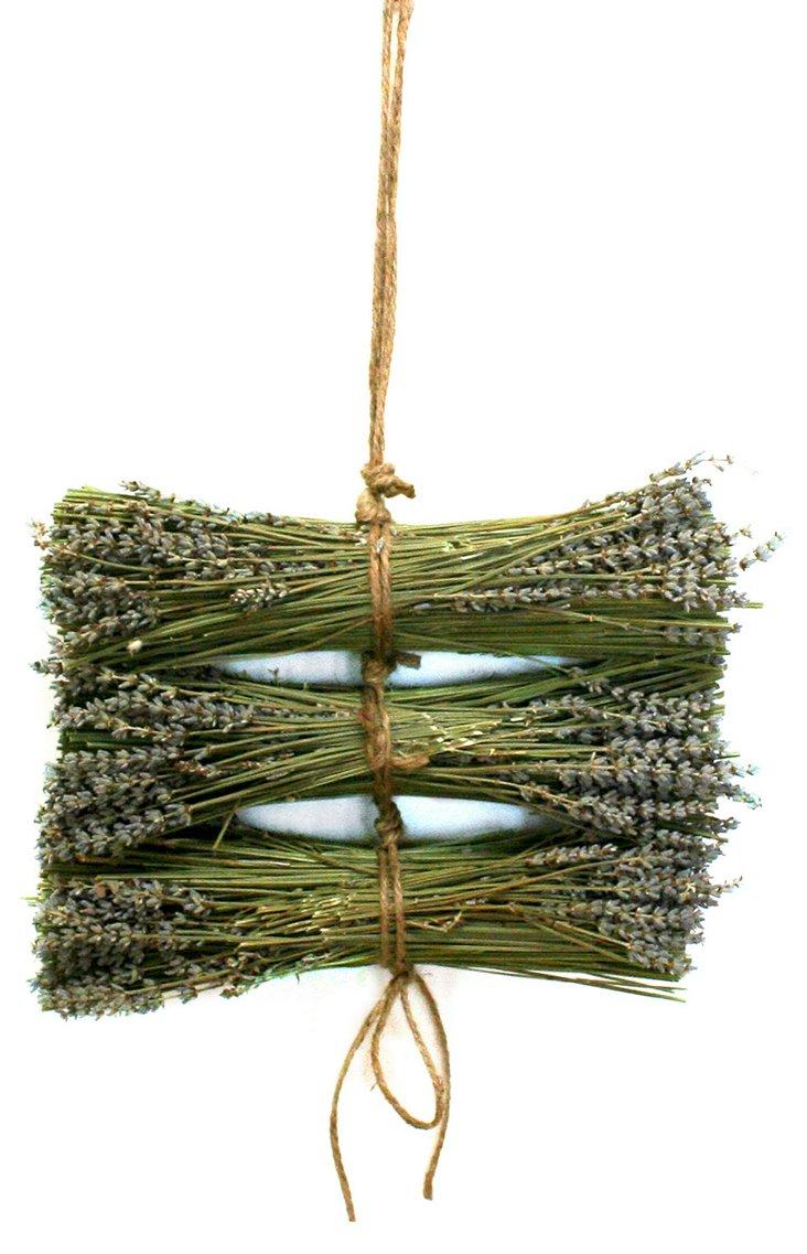 "14"" Lavender Logs w/ Jute, Dried"