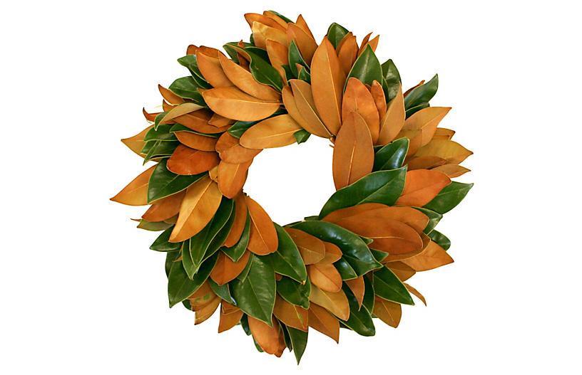 Magnolia Wreath, Live