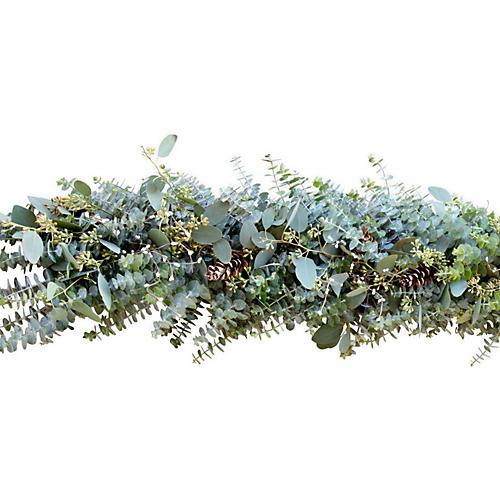 6' Winter Berry Garland, Dried
