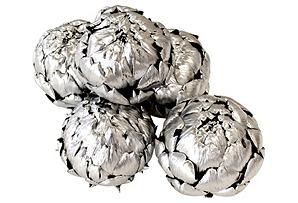 S/5 Dried Artichokes, Silver*