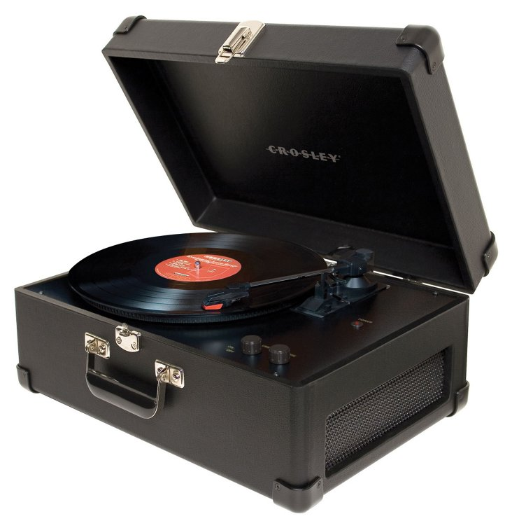 Traveler Turntable, Black