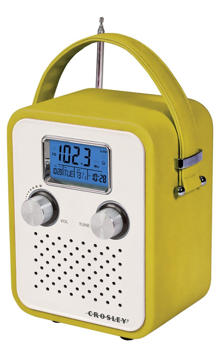 Songbird Portable Radio, Green
