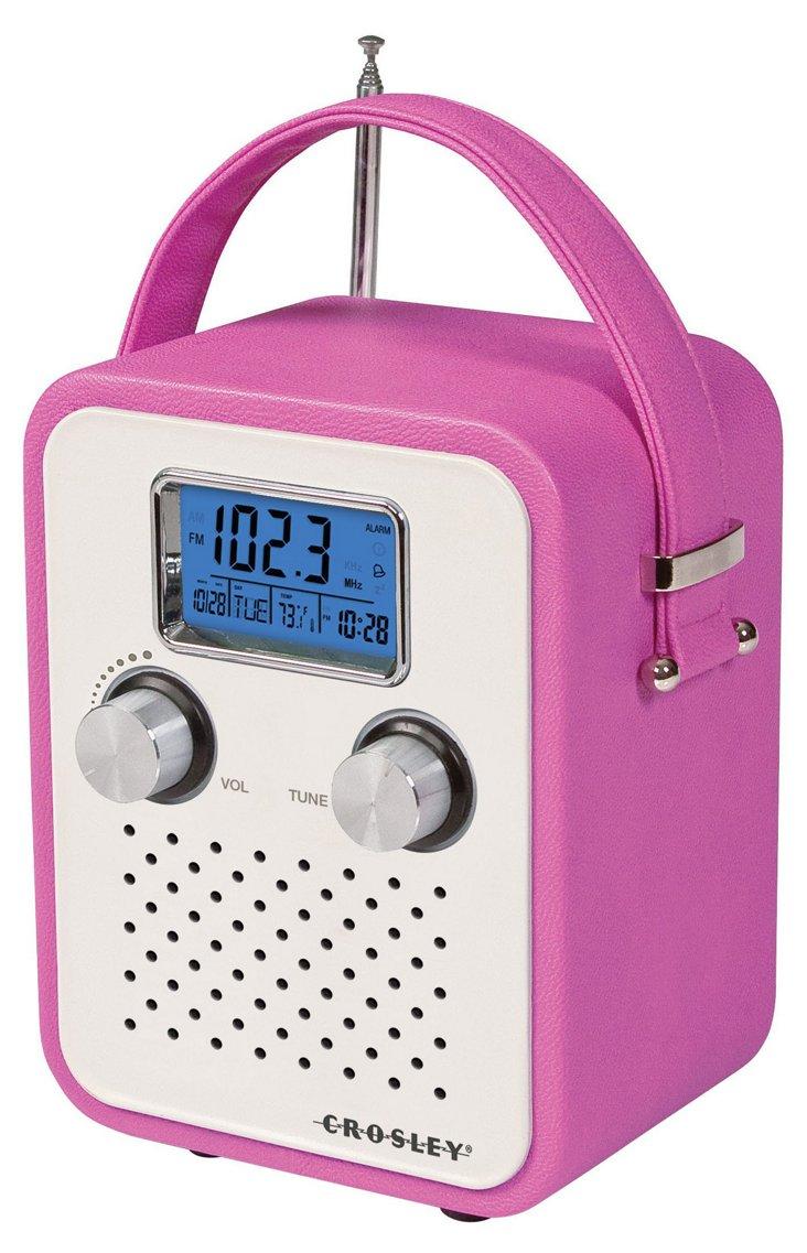 Songbird Portable Radio, Pink