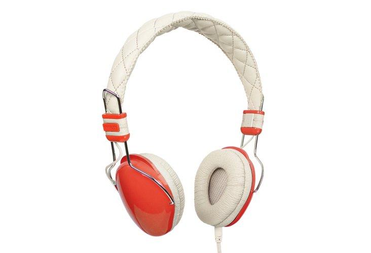 Amplitone Headphones, Orange