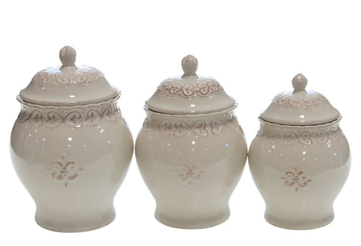 3-pc Canister Set