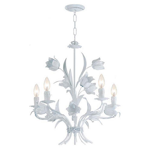 Amour Chandelier, White