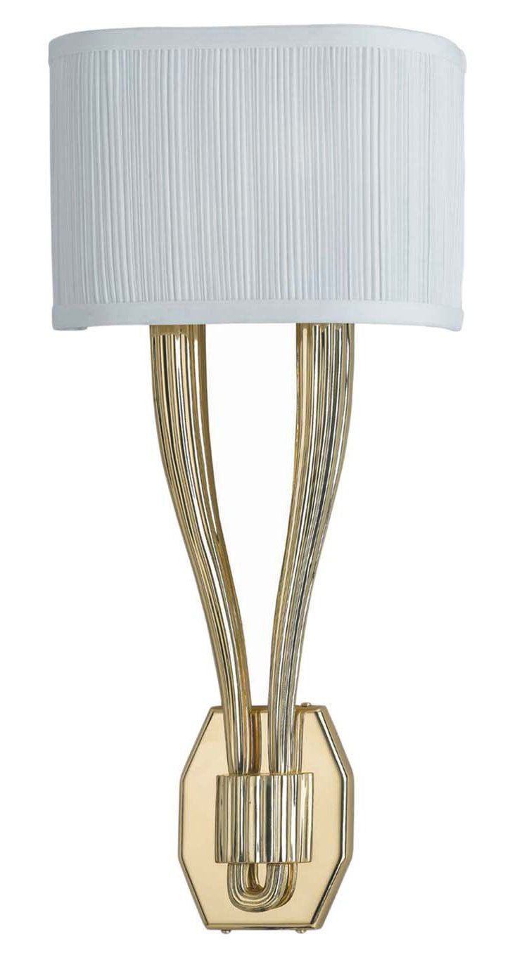 Arden Wall Sconce, Polished Brass