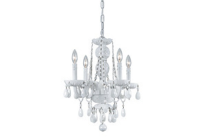 Vogue Chandelier, White*