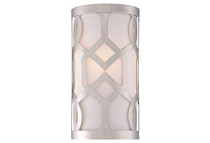 1-Light Wall Sconce, Polished Nickel*