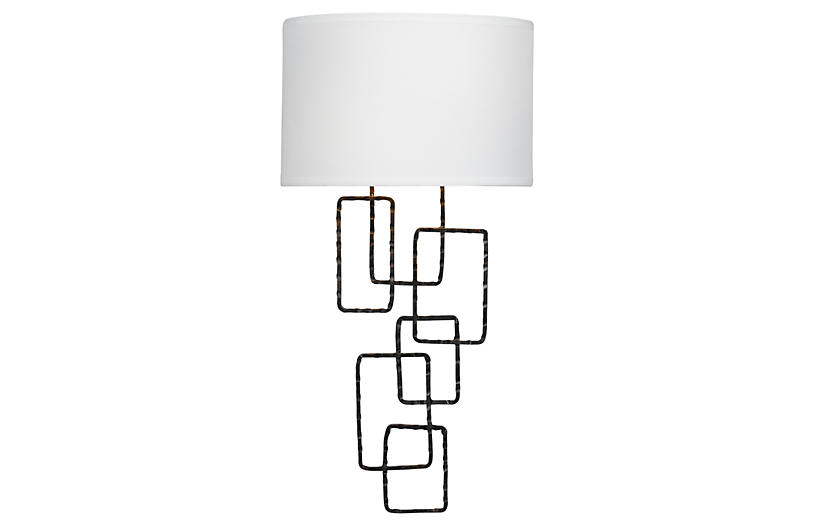 2-Light Sconce, Steel