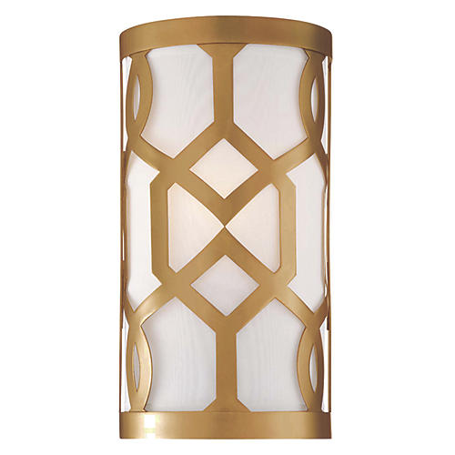 Libby Langdon 1-Light Sconce, Brass