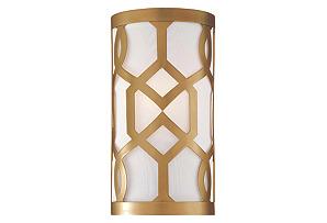 Libby Langdon 1-Light Sconce, Brass*