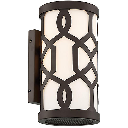 Jennings Outdoor Sconce, Dark Bronze